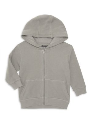 Little Kid's French Terry Zip-Up Hoodie