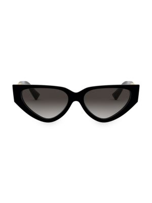 Allure 54MM Aviator Cateye Sunglasses