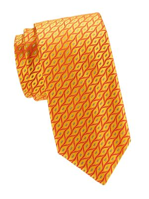 Flame Silk Tie