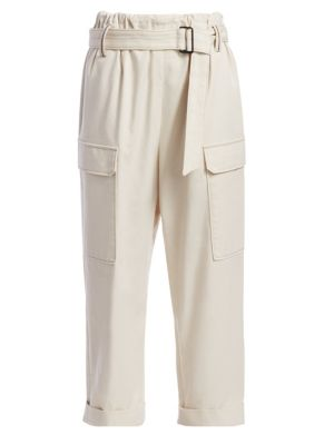 Belted Cargo Monili Pants