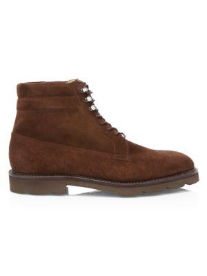 Alder Lace-Up Suede Derby Boots