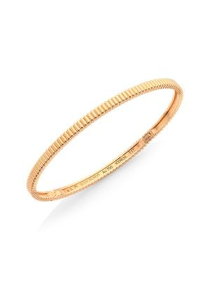 Quatre Grosgrain 18K Rose Gold Bangle Bracelet