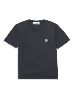 Little Boy's & Boy's Logo Cotton Tee