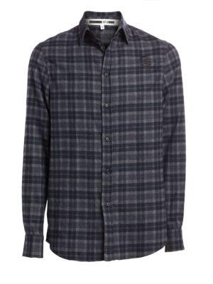 Rollins Cotton Plaid Shirt