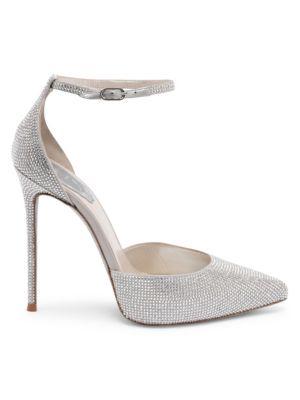 Crystal Point Toe Stilettos