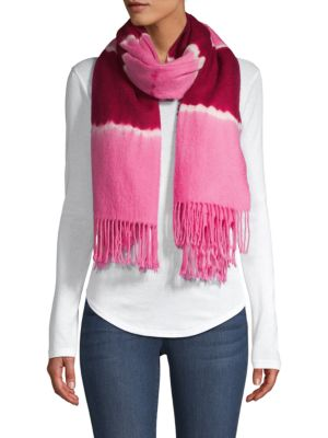 Betty Tie-Dyed Wool Scarf