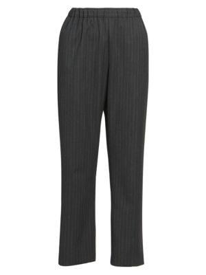 Pinstripe Trousers