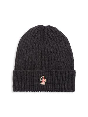 Berreto Rib-Knit Wool Beanie