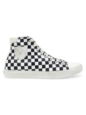Bedford High-Top Leather Sneakers