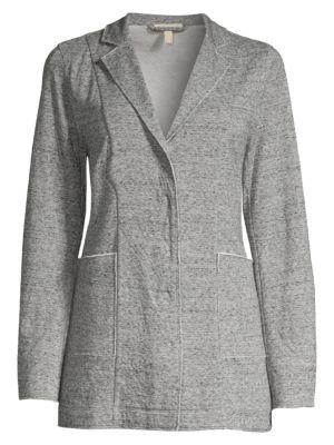 Notch Collar Jacket