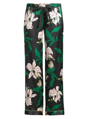 Chantal Lily Print Pajama Pants