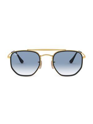 RB3648 52MM Icons Geometric Aviator Sunglasses