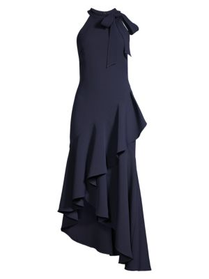 Relia Asymmetric Ruffle Dress