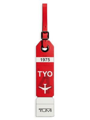 Tokyo Leather Luggage Tag