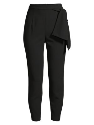 Harbor Bow Detail Cropped Trousers