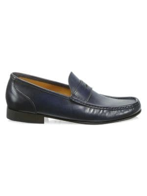 COLLECTION Leather Penny Loafers