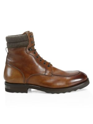 COLLECTION BY MAGNANNI Wallabee Leather Boots