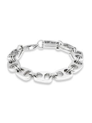 Pop Top Sterling Silver Bracelet