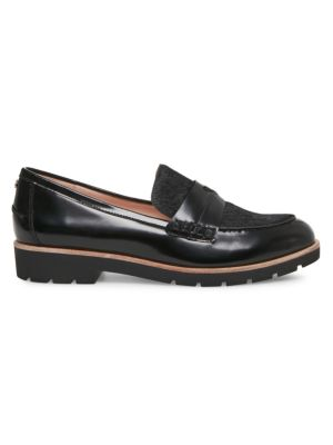 Kimi Calf Hair Leather Loafers