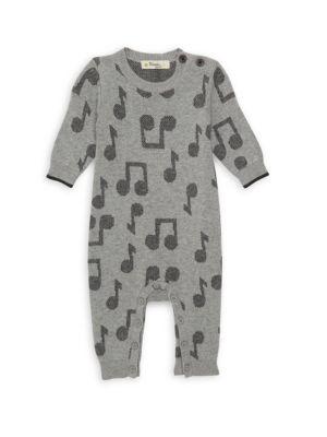 Baby's Jacquard Music Playsuit
