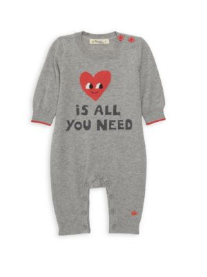 Baby's Love Is All You Need Playsuit