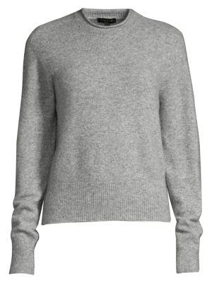Soffa Cashmere-Blend Knit Sweater