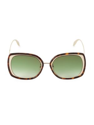 57MM Mod Square Sunglasses