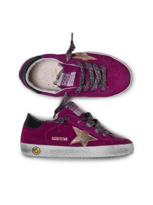 Girl's Superstar Suede Sneakers