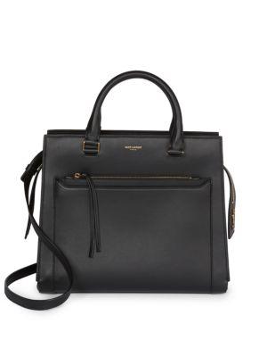 East Side Leather Top Handle Bag