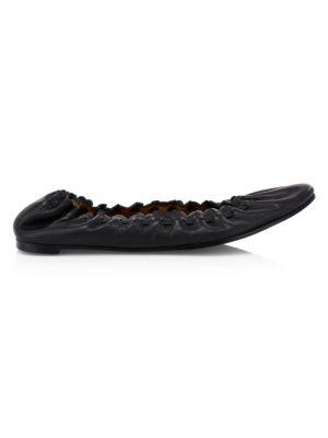 Jane Leather Ballet Flats
