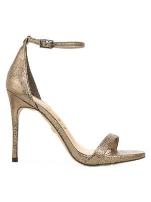 Ariella Metallic Leather Sandals