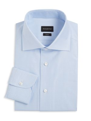 Trofeo Mini Check Dress Shirt