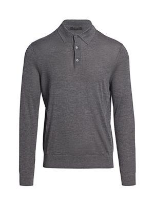 Cashmere & Silk Rugby Shirt