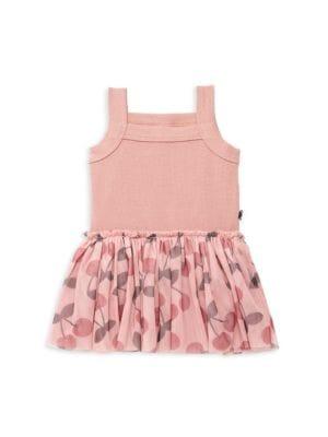 Baby Girl's Cherry Summer Ballet Dress