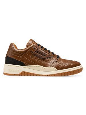 Champion Kuba Retro Embossed Leather Sneakers