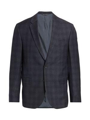 MODERN Windowpane Check Sport Jacket