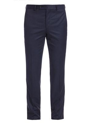 MODERN Subtle Check Suit Trousers