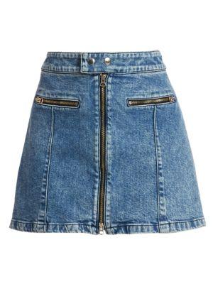 Isabel Zip Mini Skirt