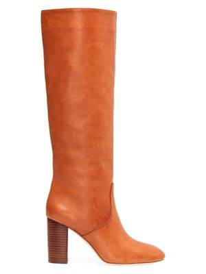 Goldy Knee-High Leather Boots