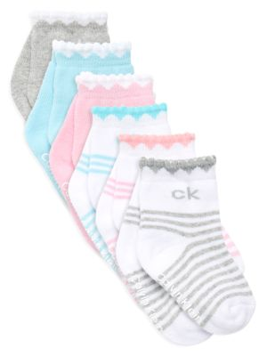 Six-Pack Striped Socks