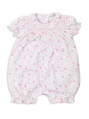 Baby Girl's Printed Bloomer Romper