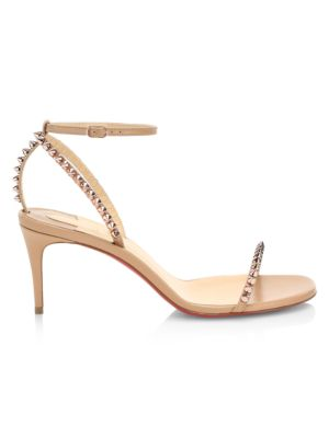 So Me Spike Leather Sandals