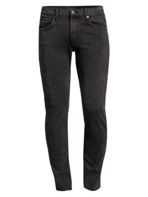 Tyler Low-Rise Slim-Fit Straight-Leg Jeans