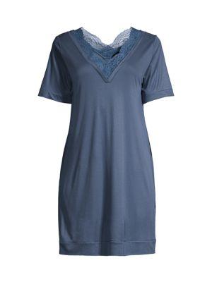 Bianca Lace Trim Sleepshirt