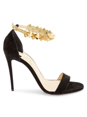 Planetava Studded Suede Sandals