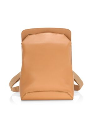 Moulded Leather Backpack
