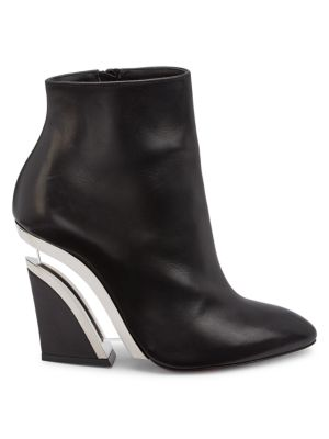 Levitibootie Leather Ankle Boots