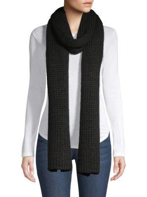 Jersey Cashmere Knit Scarf