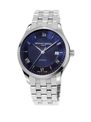 Classics Index Silvertone Automatic Watch
