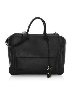 Tornabouni Cervo Leather Duffle Bag